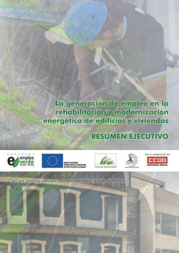 Resumen Ejecutivo rehabilitacion y empleo - CCOO