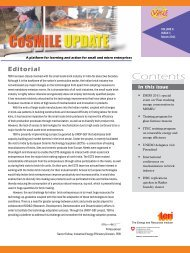 Vol. 6, Issue 1, March 2011 - Cosmile.org