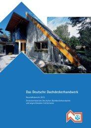 Das Deutsche Dachdeckerhandwerk - ZVDH