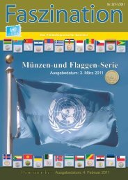 Münzen-und Flaggen-Serie - United Nations Postal Administration