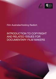 IntRoductIon to copyRIgHt And RelAted Issues FoR documentARy ...
