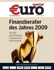 Finanzberater des Jahres 2009 - carpona Financial Services