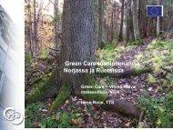 Green Care -toimintamalleja Norjassa ja Ruotsissa - TTS