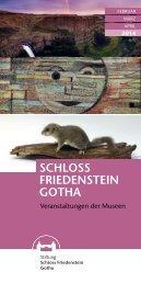 Veranstaltungen Februar - April 2014 - Stiftung Schloss Friedenstein