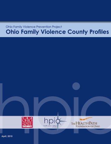 Ohio Family Violence County Profiles - GRIPelements