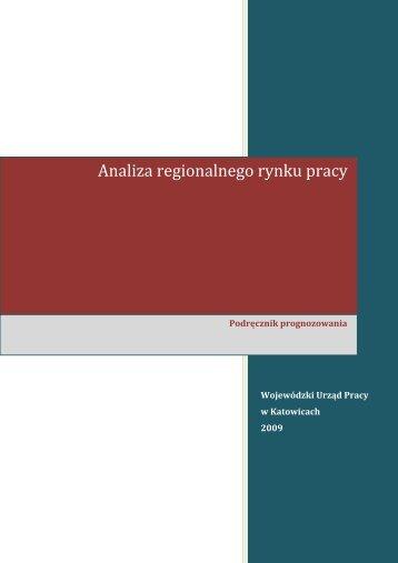 Analiza regionalnego rynku pracy - Monitoring Regionalnego Rynku ...