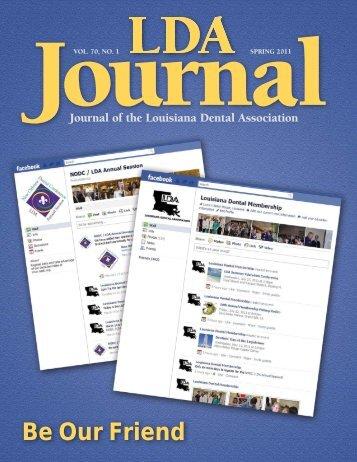 Be Our Friend - Louisiana Dental Association
