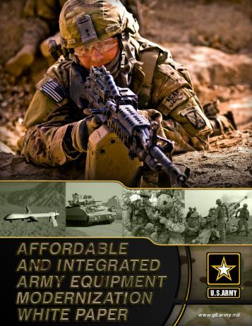 The Army University White Paper