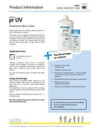 prUV product information (306.2 KB) - Ursula Rath GmbH & Co. KG