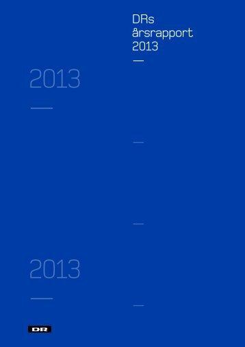 DRs Årsrapport_2013_webversion