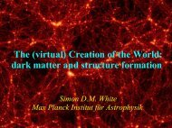 Formation of Large Scale Structure in the Universe