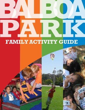 FAMILY ACTIVITY GUIDE - Balboa Park
