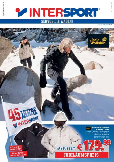 JUBILÄUMSPREIS - INTERSPORT Österreich