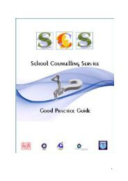 Counselling Service Good Practice Guide - King Solomon High School