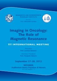 Imaging in Oncology: The Role of Magnetic Resonance - SIRM