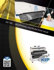 KIP 700 - EXCEPTIONAL MULTIFUNCTION VALUE