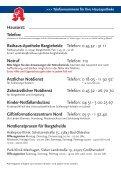 Notdienstkalender 2010 - Rathaus Apotheke Bargteheide - Seite 2