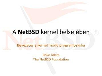 A NetBSD kernel belsejében