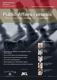 Public Affairs i praksis - IBC Euroforum