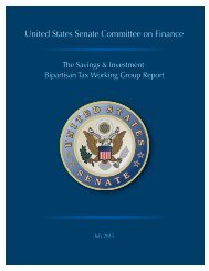 The Savings & Investment Bipartisan Tax Working Group Report (1)