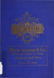 Blue Book 1922 - Newton Free Library