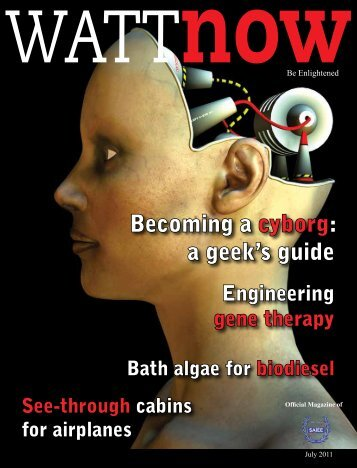 download a PDF of the full July 2011 issue - Watt Now Magazine