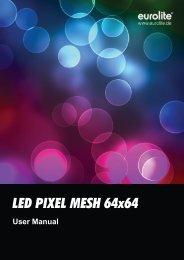 LED PIXEL MESH 64x64