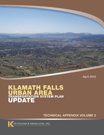 Technical Appendix - Volume 2 - Klamath County