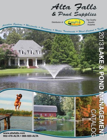 Download PDF - Alta Falls & Pond Supplies