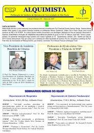 Alquimista nº 30 - Instituto de Química - USP