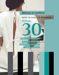 Artículo Médicos en conflicto entre la cura y la denuncia: