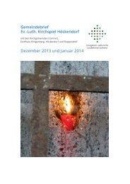 Download - Ev.-Luth. Kirchspiel Höckendorf mit den ...