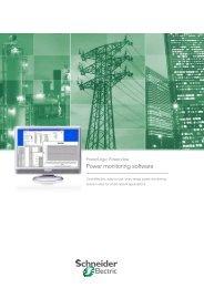 PowerLogic PowerView Software - Schneider Electric