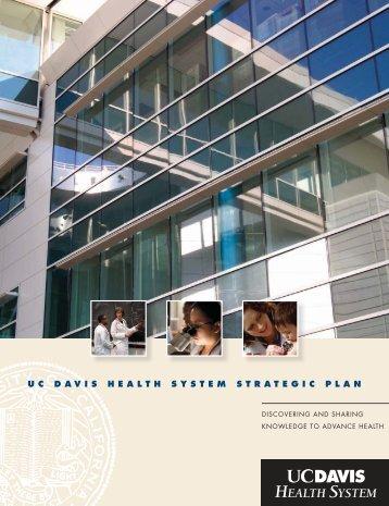 2004 Strategic Plan - UC Davis Health System