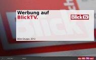 Werbung auf BlickTV.
