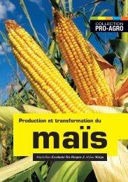Production et transformation du maïs