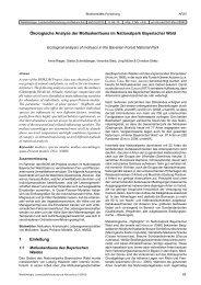 urn:nbn:de:0041-afsv-00952 - Arbeitsgemeinschaft Forstliche ...