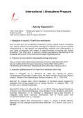 Activity Report 2011 - International Lithosphere Program ... - Page 5