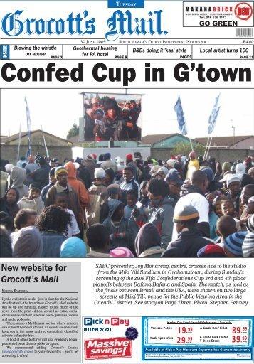 Grocott's Mail 30 June 2009