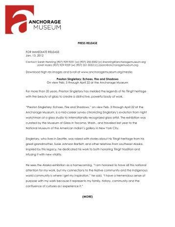 PRESS RELEASE FOR IMMEDIATE RELEASE Jan. 13, 2012 ...