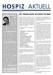 Ausgabe 7 - Hospiz im Park