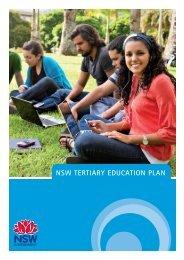 NSW Tertiary Education Plan (PDF 3.76MB) - Department of ...