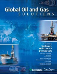 Global Oil and Gas Solutions - General Cable