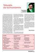 KP-LEHTI 3/2001 - Kirkonpalvelijat ry - Page 2