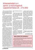 KP-LEHTI 3/2001 - Kirkonpalvelijat ry - Page 3