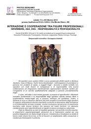 Locandina con programma - CGIL Bergamo