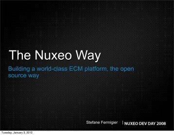 The Nuxeo Way - Stefane Fermigier