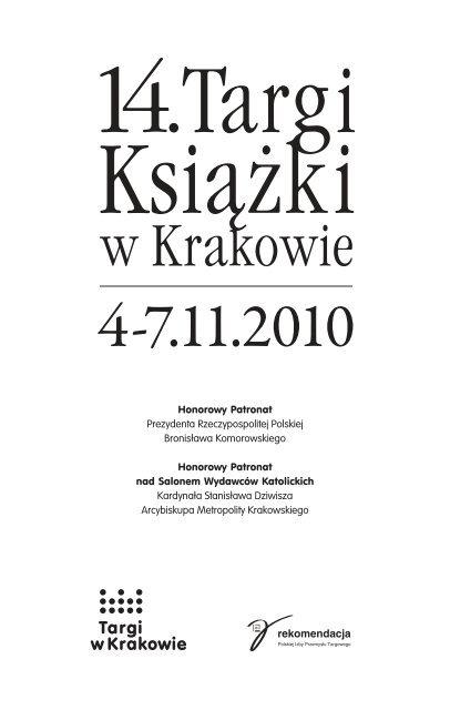 Katalog Targowy Targi W Krakowie