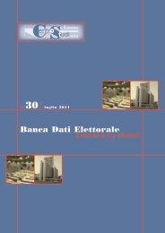 Banca Dati Elettorale - Assemblea Legislativa