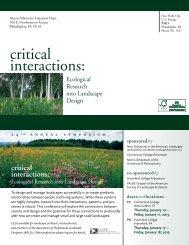 Symposium Brochure - Greater Philadelphia Gardens